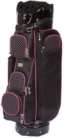 Cutler Sports Ariel Pink Star Ladies Cart Golf Bag