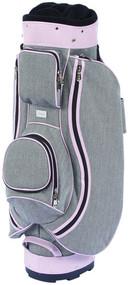Cutler Sports Madison Tweed Pink Ladies Golf Bag