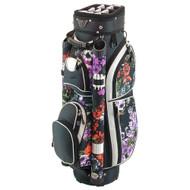 Hunter Golf Eclipse Black Floral Ladies Cart Bag