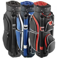 Hunter Golf Storm Black Silver Cart Golf Bag