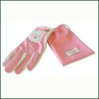 Ladies Golf Glove | Glove It Pink Clear Dot