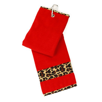 Glove It Leopard Ladies Golf Towel
