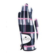 Glove It Pinkadilly Plaid Ladies Golf Glove
