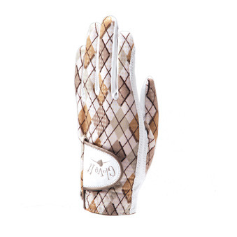 Glove It Desert Argyle Ladies Golf Glove