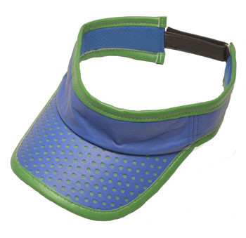 Glove It Blue Green Perf Ladies Golf Visor