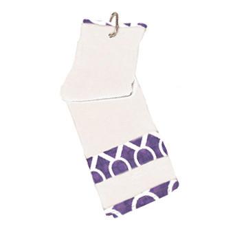 Glove It Mod Oval Ladies Golf Towel