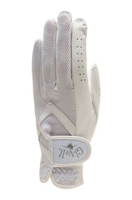 Glove It Solid White Ladies Golf Visor