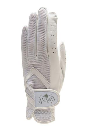 Glove It Solid White Ladies Golf Visor