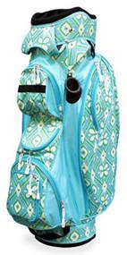 All For Color Ikat Blue Ladies Golf Bag