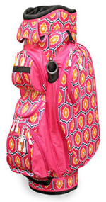 All For Color Moroccan Tile Ladies Golf Bag