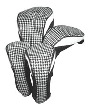 Hunter Golf Houndstooth Women's Headcover Set
