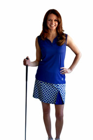 GolfHer Ace Golf Skort with SPF 35