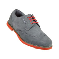 True Linkswear Dame Women's Golf Shoes - Charcoal & Salmon