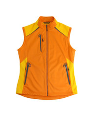 Glen Echo Orange Ladies Stretch Tech Water Repellent Vest