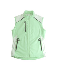 Glen Echo Mint Ladies Stretch Tech Water Repellent Vest