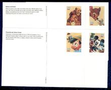 UX407-10 UPSS# S421-24 23c Disney Friendship Mint Postal Card