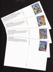 UX529-32 26c Art of Disney, Magic Mint Postal Cards