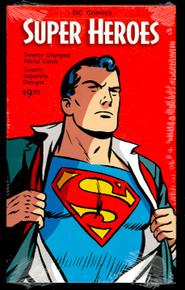 UX458-77 24c DC Comics Superheroes Mint Postal Cards