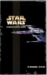 UX489-503 26c Star Wars Mint Postal Cards