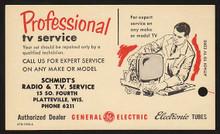 UX47 UPSS# S64-2 2c + 1c GE Card, Type 2, ETR 1720-2, Unused Postal Card