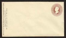U79 UPSS# 159 2c Brown on Amber, Mint Entire, CC