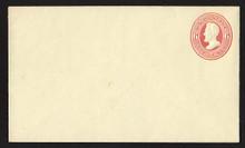 U86 UPSS # 211 6c Red on Amber, Mint Entire