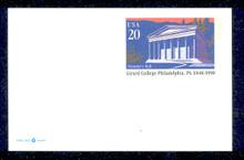 UX292 UPSS# 305 20c Girard College Mint Postal Card