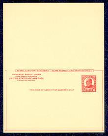 UY12 UPSS# MR19 3c McKinley Mint UNFOLDED