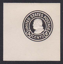 U440 4c Black on White, Mint Full Corner