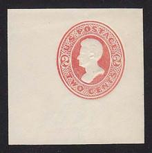 U149 2c Vermillion on White, die 6, Mint Full Corner, 50 x 50