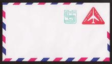 UC45 UPSS # AM-105-47 10c + 1c Red, Mint Entire