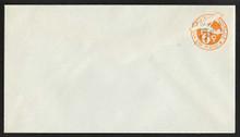 UC13 UPSS # AM-54-41 5c on 6c Orange, die 3, Mint Entire