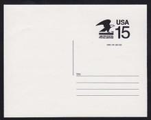 CVUX1, UPSS #PB1 15c Postal Buddy Mint Postal Card