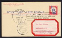 UX45 UPSS# S62 4c Statue of Liberty International First Day Postal Card