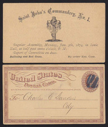 UX3 Saint John's Commandery, No. 1 Assembly Notice