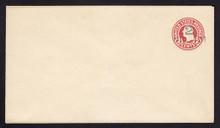 U454, UPSS #2826-19 2c on 2c Carmine on White, die 6, Mint Entire