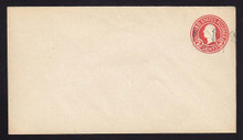 UPSS #3041 1c Postal Card Surcharge on 2c Carmine on White, die 7, Mint Entire