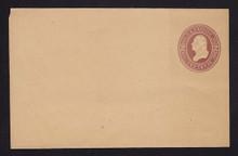 W283 UPSS# 843-9 2c Brown on Manila, die 1, Mint Wrapper, folded