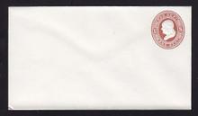 UO18 UPSS# WD1 1c Dark Red on White, Mint Entire
