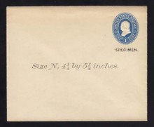 U294, UPSS # 882-8 Entire, Specimen Form 39