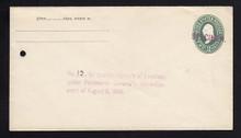 U311, UPSS # 935-12 Entire, Specimen Form 42