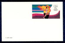 UX102 UPSS# S119 13c Olympic Runner Mint Postal Card