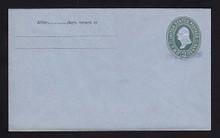U314, UPSS # 984-12 Entire, Specimen Form 43
