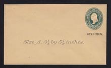 U315, UPSS # 998-8 Entire, Specimen Form 39