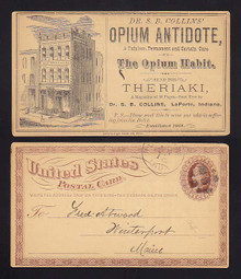 UX3 Laporte, Indiana Dr. Collins OPIUM ANDTIDOTE