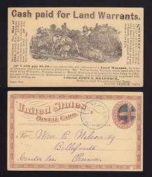 UX3 Mount Vernon, Ohio Cash Paid For Land Warrants