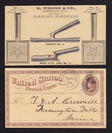UX3 Birmingham, Connecticut D. Wilcox & Co, Carriage Hardware