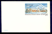UX119 UPSS# S136 14c Timberline Lodge Mint Postal Card