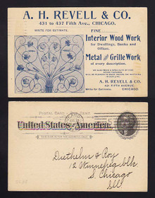 UX12 Chicago, Illinois A. H. Revell & Co., Wood Work/Metal & Grille Work