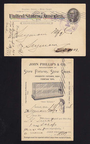 UX12 Detroit, Michigan John Phillips & Co., Store Fixutres/Show Cases